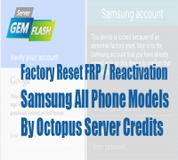 Factory Reset FRP / Reactivation Samsung All Phone Models
